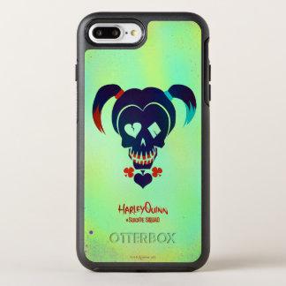 Coque Otterbox Symmetry Pour iPhone 7 Plus Icône principale du peloton | Harley Quinn de