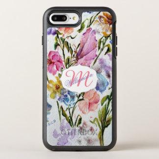 COQUE OTTERBOX SYMMETRY POUR iPhone 7 PLUS JARDIN FLORAL LUNATIQUE