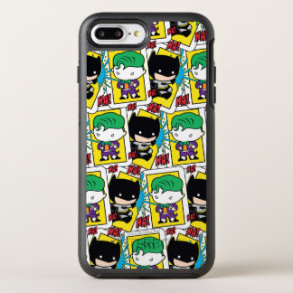 Coque Otterbox Symmetry Pour iPhone 7 Plus Joker de Chibi et motif de carte de jeu de Batman