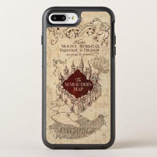 Coque Otterbox Symmetry Pour iPhone 7 Plus La carte du maraudeur du charme | de Harry Potter