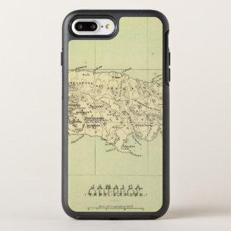 Coque Otterbox Symmetry Pour iPhone 7 Plus La Jamaïque a lithographié la carte