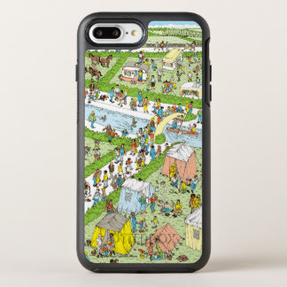 Coque Otterbox Symmetry Pour iPhone 7 Plus Là où est le terrain de camping de Waldo