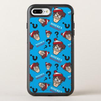 Coque Otterbox Symmetry Pour iPhone 7 Plus Là où est Waldo bleu modelez