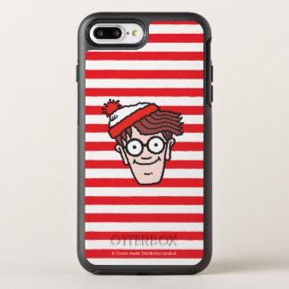 Coque Otterbox Symmetry Pour iPhone 7 Plus Là où est Waldo faites face