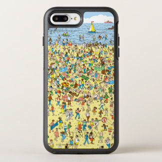 Coque Otterbox Symmetry Pour iPhone 7 Plus Là où est Waldo sur la plage