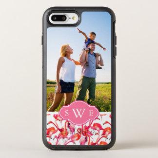 Coque Otterbox Symmetry Pour iPhone 7 Plus L'aquarelle Flamingos  ajoutent votre photo et