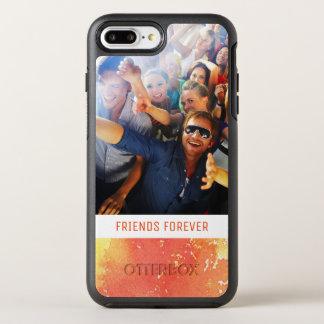 Coque Otterbox Symmetry Pour iPhone 7 Plus L'aquarelle orange peinte par résumé | ajoutent la