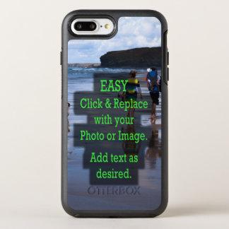 Coque Otterbox Symmetry Pour iPhone 7 Plus Le clic simple et remplacent la photo pour créer