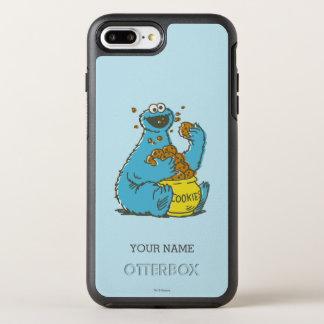 Coque Otterbox Symmetry Pour iPhone 7 Plus Le cru | de monstre de biscuit ajoutent votre nom