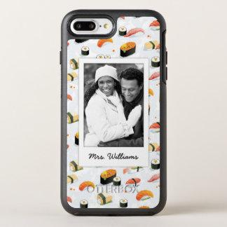 Coque Otterbox Symmetry Pour iPhone 7 Plus Le motif japonais | de sushi de la nourriture |