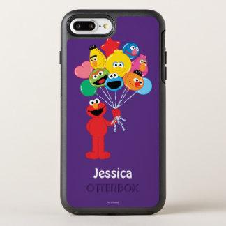 Coque Otterbox Symmetry Pour iPhone 7 Plus Les ballons d'Elmo | ajoutent votre nom