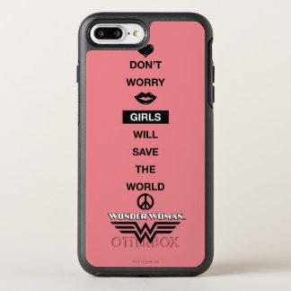 Coque Otterbox Symmetry Pour iPhone 7 Plus Les filles sauveront le graphique de femme de