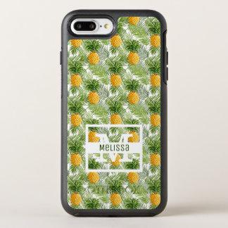 Coque Otterbox Symmetry Pour iPhone 7 Plus Les palmettes et les ananas tropicaux | ajoutent