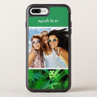 Coque Otterbox Symmetry Pour iPhone 7 Plus Les palmiers tropicaux | ajoutent votre photo et