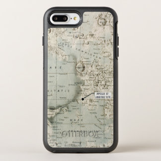COQUE OTTERBOX SYMMETRY POUR iPhone 7 PLUS L'ESPACE : LUNE MAP, 1972