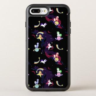 Coque Otterbox Symmetry Pour iPhone 7 Plus Licornes de l'espace de Kawaii