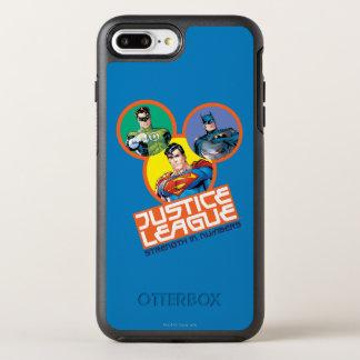 """Coque Otterbox Symmetry Pour iPhone 7 Plus Ligue de justice """"force dans les nombres """""""