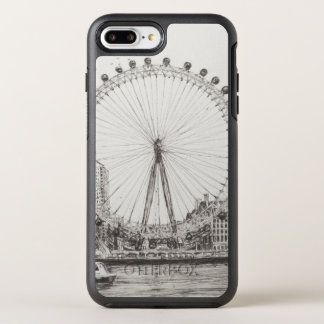 Coque Otterbox Symmetry Pour iPhone 7 Plus L'oeil 30/10/2006 de Londres