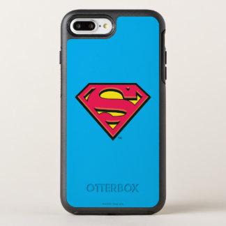 Coque Otterbox Symmetry Pour iPhone 7 Plus Logo classique 3 du S-Bouclier   de Superman