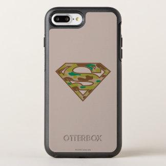 Coque Otterbox Symmetry Pour iPhone 7 Plus Logo de camouflage du S-Bouclier   de Superman