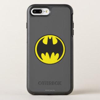 Coque Otterbox Symmetry Pour iPhone 7 Plus Logo de cercle de batte du symbole | de Batman