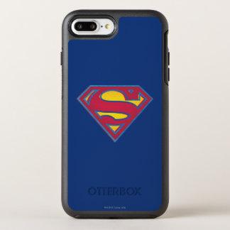 Coque Otterbox Symmetry Pour iPhone 7 Plus Logo de point du S-Bouclier   de Superman