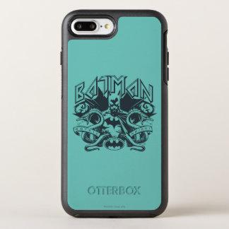 Coque Otterbox Symmetry Pour iPhone 7 Plus Logo de serpents de Batman |
