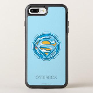 Coque Otterbox Symmetry Pour iPhone 7 Plus Logo de vitesse du S-Bouclier   de Superman