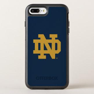 Coque Otterbox Symmetry Pour iPhone 7 Plus Logo d'emblème de Notre Dame |