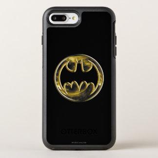 Coque Otterbox Symmetry Pour iPhone 7 Plus Logo d'or du symbole | de Batman