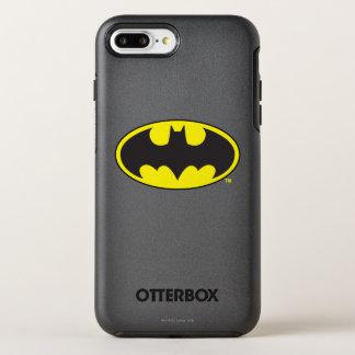 Coque Otterbox Symmetry Pour iPhone 7 Plus Logo d'ovale de batte du symbole | de Batman