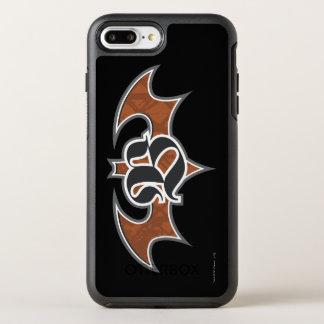 Coque Otterbox Symmetry Pour iPhone 7 Plus Logo du symbole | Brown de Batman
