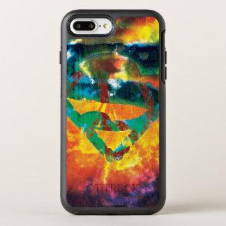 Coque Otterbox Symmetry Pour iPhone 7 Plus Logo embouti par paix du S-Bouclier | de Superman