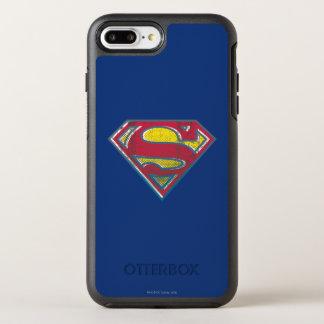 Coque Otterbox Symmetry Pour iPhone 7 Plus Logo imprimé par | de S-Bouclier de Superman