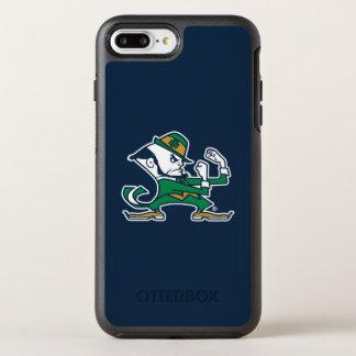 Coque Otterbox Symmetry Pour iPhone 7 Plus Logo irlandais de combat de lutin de Notre Dame |