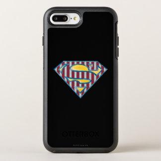 Coque Otterbox Symmetry Pour iPhone 7 Plus Logo rayé du S-Bouclier | de Superman