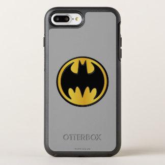 Coque Otterbox Symmetry Pour iPhone 7 Plus Logo rond classique du symbole | de Batman