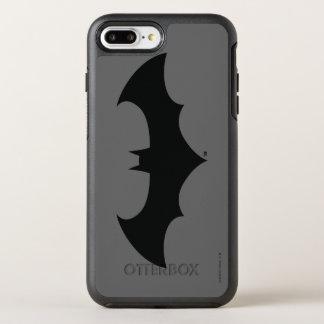 Coque Otterbox Symmetry Pour iPhone 7 Plus Logo simple de silhouette de batte du symbole | de