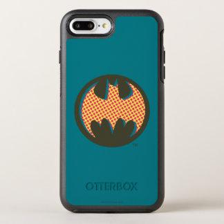 Coque Otterbox Symmetry Pour iPhone 7 Plus Logo tramé rouge du symbole | de Batman