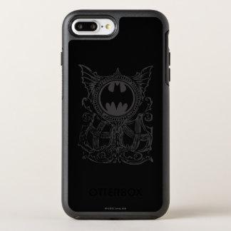 Coque Otterbox Symmetry Pour iPhone 7 Plus Logo urbain de blanc de noir de légendes du