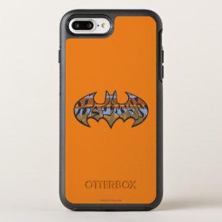 Coque Otterbox Symmetry Pour iPhone 7 Plus Logo urbain du symbole | Brown bleu de Batman