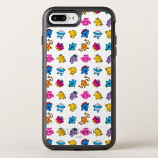 Coque Otterbox Symmetry Pour iPhone 7 Plus M. Men et petit motif au néon de danse de la Mlle