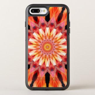 Coque Otterbox Symmetry Pour iPhone 7 Plus mandala fractalized de lever de soleil