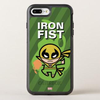 Coque Otterbox Symmetry Pour iPhone 7 Plus Manipulation de Chi d'Iron Fist de Kawaii