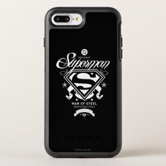 Coque Otterbox Symmetry Pour iPhone 7 Plus Manteau de Superman des bras