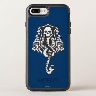 Coque Otterbox Symmetry Pour iPhone 7 Plus Marque foncée du charme   de Harry Potter
