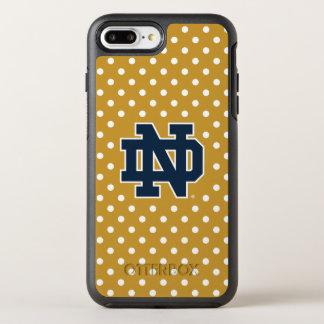 Coque Otterbox Symmetry Pour iPhone 7 Plus Mini pois de Notre Dame |