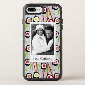 Coque Otterbox Symmetry Pour iPhone 7 Plus Monogramme du motif | de conception de sushi