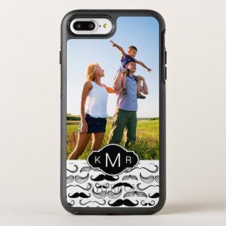 Coque Otterbox Symmetry Pour iPhone 7 Plus Motif 2 de photo et de moustache de monogramme