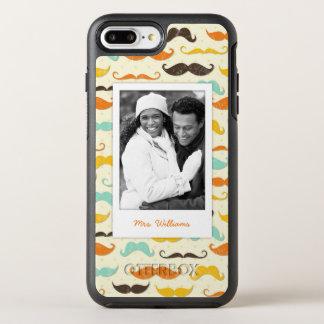Coque Otterbox Symmetry Pour iPhone 7 Plus Motif 3 de photo et de moustache de nom